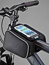 cykel~~POS=TRUNC 1.8LVäska till cykelramen / Mobilväska Damm säker / Touch Screen Cykelväska PU Läder / Polyester / PVC Pyöräilylaukku