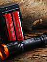 Lampes Torches LED / Lampes de poche LED 5 Mode 1800 Lumens Faisceau Ajustable Cree XM-L T6 18650Camping/Randonnée/Spéléologie / Usage