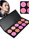 Kvinnor Makeup Kosmetisk Contour Skuggning Concealer Pulver Palett 10 färger / Set 6936