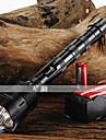 LED-Ficklampor (Justerbar fokus / Greppvänlig) - LED 5 Läge 3800/3000 Lumen 18650 Cree XM-L T6 Batteri -Camping/Vandring/Grottkrypning