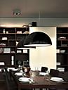 40 Lampe suspendue ,  Contemporain Saladier Peintures Fonctionnalité for Style mini MétalSalle de séjour Chambre à coucher Salle à manger
