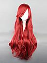 Perruques de Cosplay Cosplay Fête / Célébration Déguisement Halloween Rouge Couleur Pleine Perruque Halloween / CarnavalFéminin /
