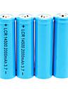 2000mAh Batterie 14500 (4pcs)