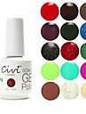 Civi UV Color Gel Nagellack No.161-180 (15 ml, blandade färger)