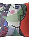 Peintures célèbres Fonctionne Deux Housse de coussin décoratif