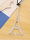 Eiffeltornet Formade platser av historiskt intresse Metal bokmärke