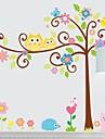 Frankie ™ DIY dekorativa klistermärken tecknad Tree kan avlägsnas