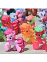 My little pony Loose Actionfigurer leksak 4-6cm Pony Littlest Figur Gift For Kids