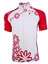 Polyester respirant à manches courtes vélo maillot de femmes Getmoving ®