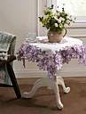 Purple Frunze față de masă Broderie Home Decor
