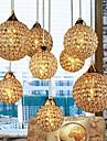 Max 40W Hängande lampor ,  Modern / Glob Elektropläterad Särdrag for Kristall Metall Bedroom / Dining Room / Studierum/Kontor