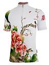 Getmoving ® Kvinnors Polyester och Spandex Kortärmad Cycling Jersey