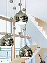 Modern Taklampa 3 Lights Silver Krom Metall