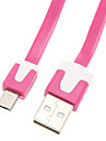 USB2.0 hane till Micro USB 2.0 hane-kabel (Assorted Color 200cm)
