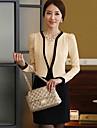 Hanyiou ® femeii OL Auto Îmbinare Fals Doi Piece Suit Dress