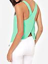 Pentru femei Tricouri nou design fara spate Sexy șifon