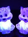 Cat Rotocast changeant de couleur Night Light