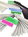 40pcs 5 Typer Nail Art Filer & Buffer Blocks (4 färger) Manicure Set för akryl