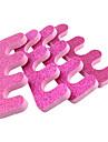 2 Pièces Rose Red Sponge Toe Seperator