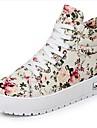 Faible talon Comfort mode Sneakers Chaussures de toile de femmes (plus de couleurs)