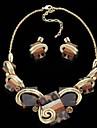 Femei Vintage Aliaj Set colier & cercei