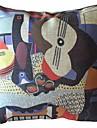 Berömda målningar Fungerar Fyra Dekorativa Kuddfodral