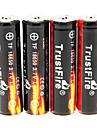 Trustfire 2400mAh 18650 (4pcs) avec protection de surcharge