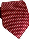 Barbati Classic Professional rochie Red White Stripe Business cravate Printed Tie