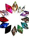 24 Manucure Dé oration strass Perles Maquillage cosmétique Nail Art Design