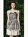 TS Vintage Floral Print Dress