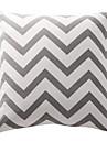 twopages® oreiller en coton couverture / oreiller avec insertion géométrique moderne / contemporaine