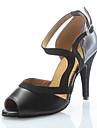 Anpassade Dammode läder Dans sko för latin och Salsa