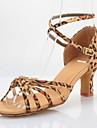 Femei Satin Pantofi de dans pentru sandale latină / Ballroom