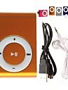 MP3-pelare med fäte, Micro D och TF-kortläsare (blandande färger)