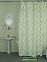 Rustik Polyester  -  Hög kvalitet Duschdraperi