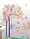 Frankie ™ Plantera blommor DIY Löstagbara Wall Stickers Dandelion Girl 3D-lager