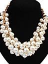 welly kvinnors uttalande pärla temperament halsband