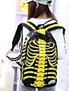 toile de mode sac à dos grand étudiant de skeleton unisexe (de couleur assortie)