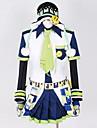 Inspirerad av Dramatical Murder Noiz Video Spel Cosplay Kostymer/Dräkter cosplay Suits Lappverk Vit / BlåTopp / Skjorta / Hatt / Knyta /