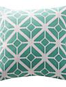Coton Housse de coussin / Coussin avec rembourrage , Géométrique Moderne/Contemporain