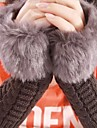 Women'S Imitation Rabbit Fur Gloves