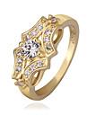 Melesen Classical Gold fjäril mönster ring
