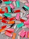 500 pièces en 1 set de femmes de fille de dame demi artificielle faux autocollants artistiques à ongles Conseils