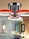 18 Takmonterad ,  Modern Krom Särdrag for Flush Mount Lights Metall Living Room / Bedroom / Sovrum