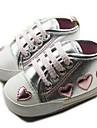 Cotton Flicka Flat Heel Första Walker Fashion Sneaker med snörskor