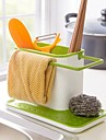 Simply porteurs baguettes de cuisine en plastique de stockage (couleurs assorties)