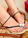 confort inel deget de la picior plat pantofi de sandale cu toc pentru femei (mai multe culori)