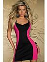 Contrast Sexy dulci femei de culoare Bodycon Dress