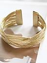 Mode Twist Lucky Doll femmes de Knit de bracelet d'or