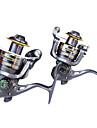 Moulinet pour pêche Moulinet spinnerbaits 5.2:1 8.0 Roulements à billes Echangeable / Droitier / GaucherPêche en mer / Pêche d'appât /